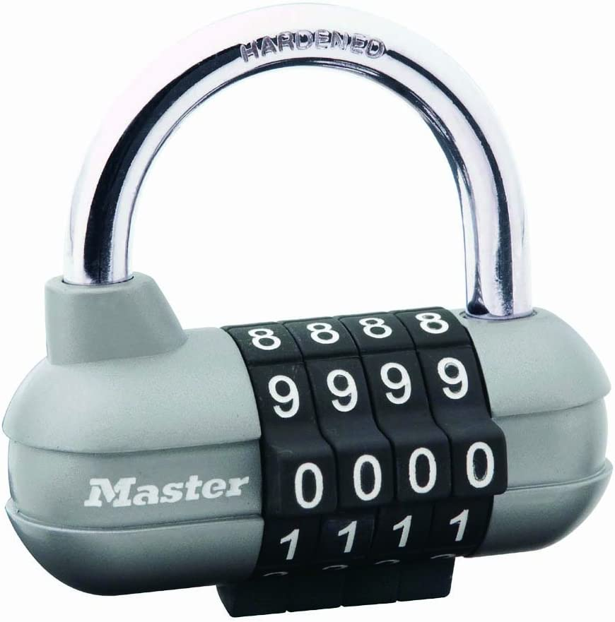 High Quality COMBINATION PADLOCK Re-Settable Number//Code Choose Size//Finish UK