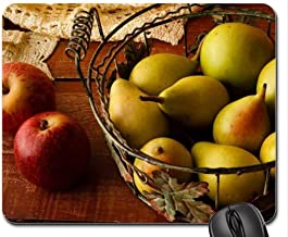 Mouse Pads,Basket of Fruits Mouse Pad, Mousepad