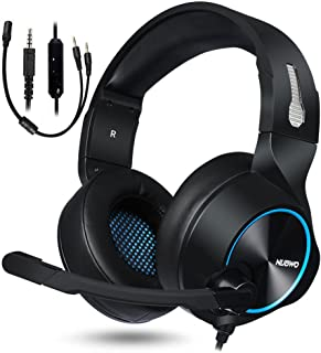 NUBWO Gaming Headset for Xbox One PS4 PC Gaming and Nintendo Switch,Stereo Surround Noise Cancelling Over Ear Gaming Headphones with Mic Volume Control for Xbox 1 S Playstation 4 Laptop,PC,Mac,iPad