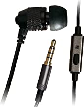 XDU Pathfinder + Mic Single Stereo-to-Mono Noise Isolating Earphone, Reinforced Cord