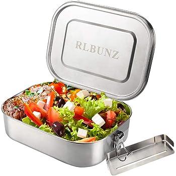 Edelstahl Lunchbox Dichtung Herausnehmbarer Trennwand Brotzeitdose Bento Box DE