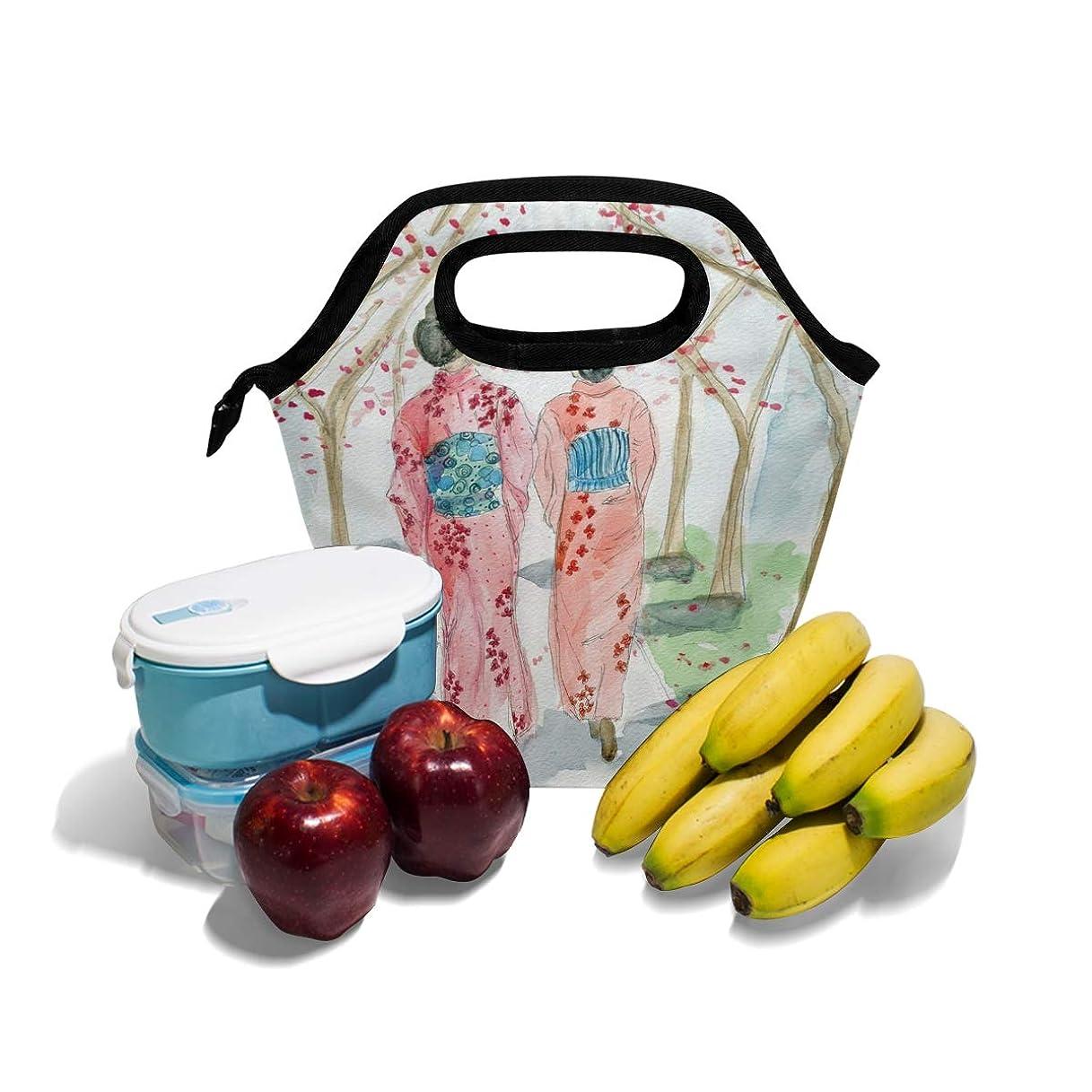 限られた予想する記事CW-Story 桜の女 保冷バッグ ランチバッグ 保冷バック ランチバック お弁当袋 お弁当 大容量