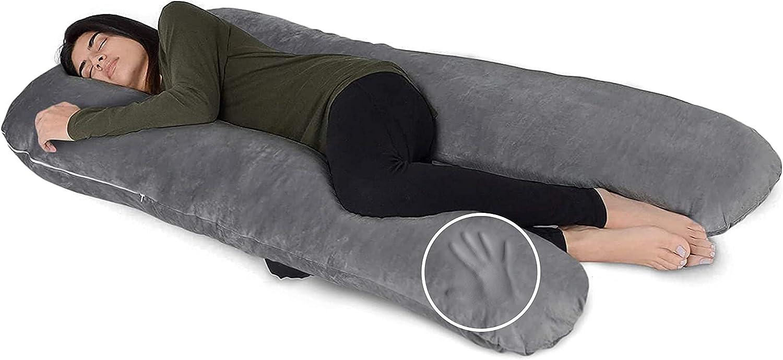 mart Milliard U Award Shaped Body Pillow Memory for Sleeping Foam Comfort