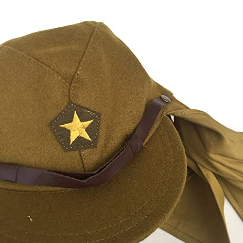 8e15b09d5a6 ZWJPW WWII Japanese Army Soldier Combat Hat-Japan Military Cap