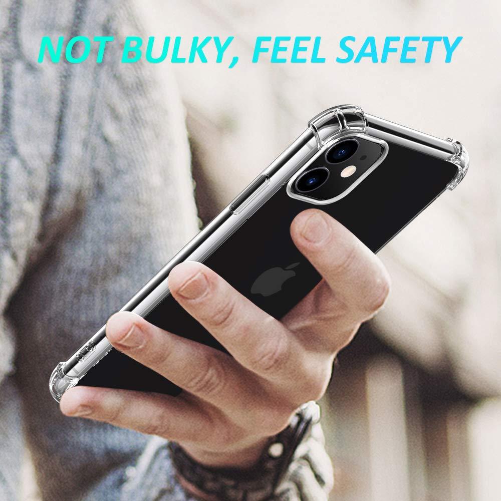 Joyguard Ultra-transparent, flexible, TPU silicone mobile phone case