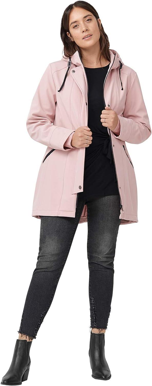 ellos Women's Plus Size Bonded High-Low Jacket