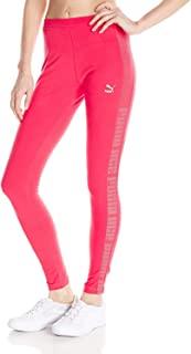 PUMA womens Mesh Detail Leggings Mesh Detail Leggings