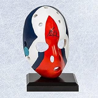GRANT FUHR Signed EDMONTON OILERS Mini Mask - Autographed NHL Mini Helmets and Masks