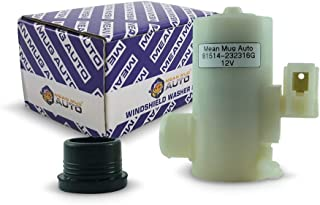 Mean Mug Auto 81514-232316G Windshield Washer Pump (Rear) w/Grommet - For: Honda, Acura - Replaces OEM #: 38512-SF0-013, 38512-SF0-003, 38512-SF0-J01
