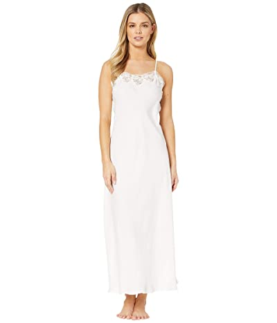 Eileen West Satin Ballet Nightgown (Winter White) Women