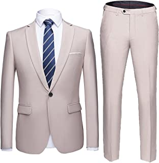 Best beige mens wedding suits Reviews