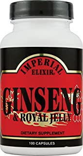 Imperial Elixir Ginseng and Royal Jelly - 100 Capsules