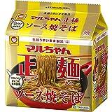 マルちゃん正麺 ソース焼そば 5食パック 110X5g ×6個