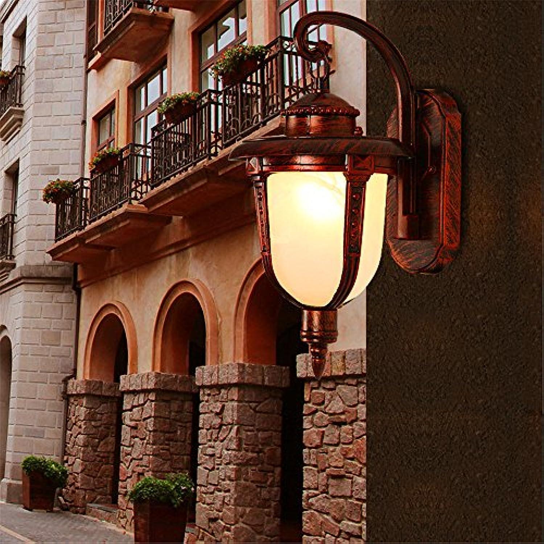 Firsthgus E27 Wandlampe Retro Auenwandleuchte Wasserdichtes Auenlicht Treppengartenlicht