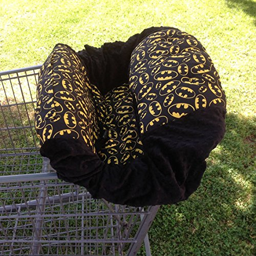 Sale!! Shopping Cart Cover- Batman/Black