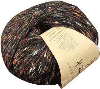 Vxhohdoxs - Ovillo de lana para tejer a mano (50 g), multicolor 13