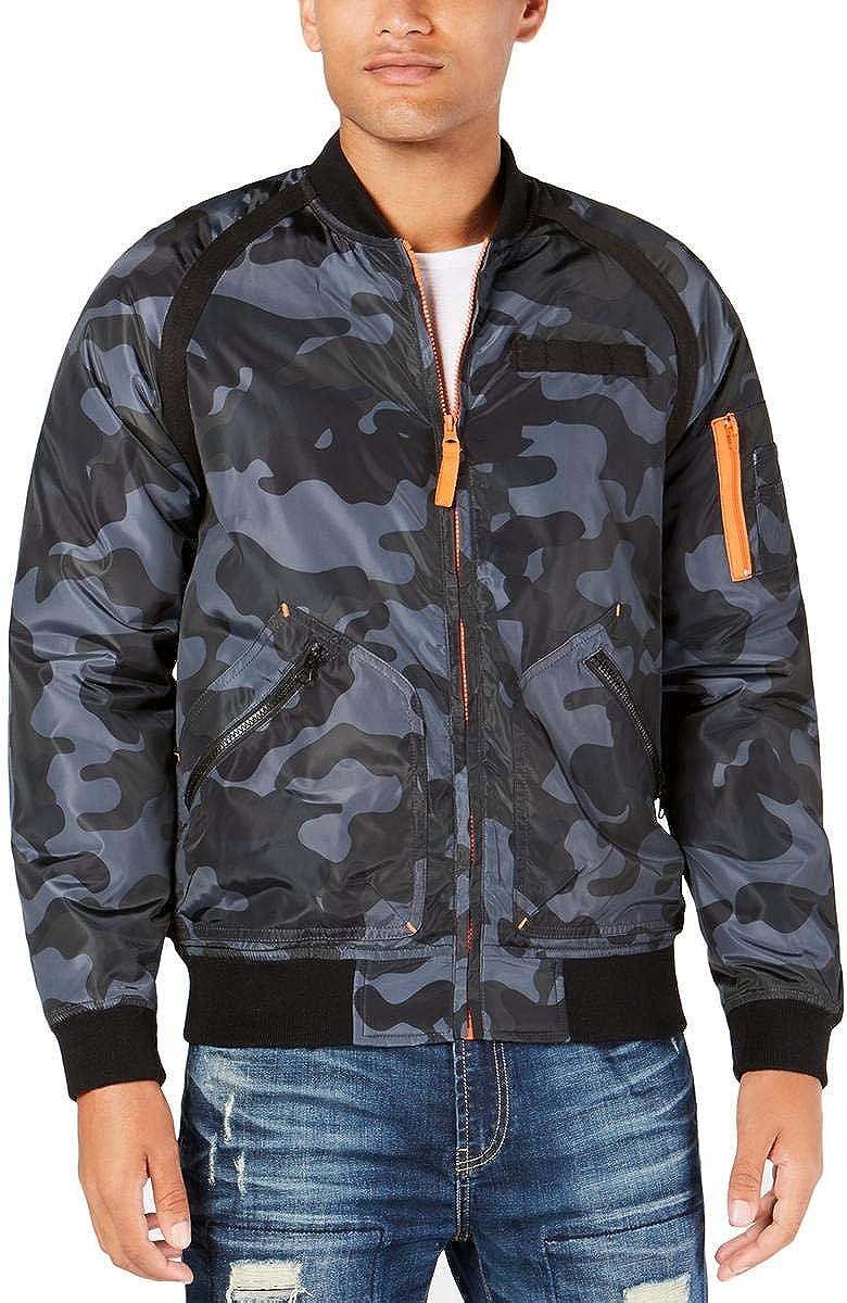 American Rag Mens Camouflage Bomber Jacket