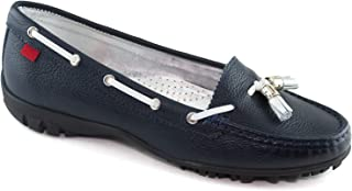 Women's Golf Light Weight Genuine Leather Made in Brazil Spring Street Golf Performance Marc Joseph NY Fashion Shoes