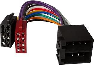 Aerzetix - Cavo connettore autoradio 20cm ISO adattatore cavetto alimentazione.