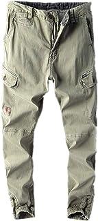 YLBH Los Monos De Los Hombres Se Divierten Los Pantalones Multibolsillos Pantalones De Moda Pantalones Casuales Pantalones...