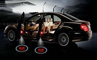 2 X Black 5th Gen car door Shadow laser projector logo LED light for dodge all series challenger viper charger ram 1500 2500 3500 dart diesel power wagon sprinter dakota Nitro