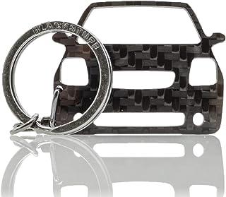 BlackStuff Carbon Karbonfaser Schlüsselanhänger Schlüsselbund Kompatibel mit C2 VTS 2003 2009 BS 157