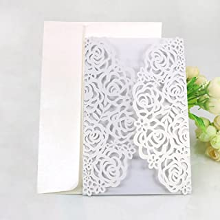 Best purple and lace wedding invitations Reviews