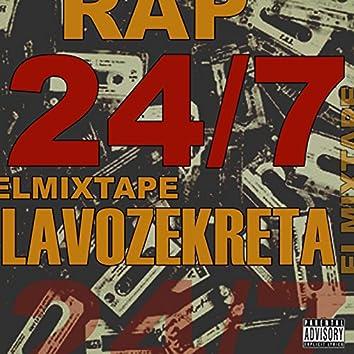 RAP 24/7 El Mixtape