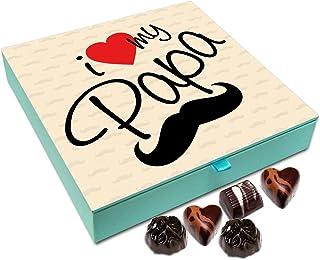 Chocholik Fathers Day Gift Box - I Love My Father Chocolate Box - 9pc