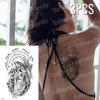Handaxian 3 Piezas de Tatuaje y Arte Corporal Mujer guerrera con ...