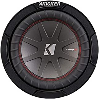 KICKER 43CWR82 8 inç Woofer CompR82 Siyah
