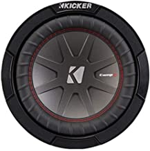 Kicker 43CWR82 CompR 8 Inch 2 Ohm 300 Watt RMS Power and 600 Watts Peak Power Dual Voice..