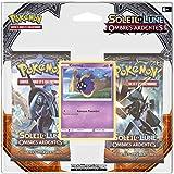 Asmodée - 2PACK01SL03 - 2 Boosters Pokémon Soleil et Lune Ombres Ardentes (Version Française)