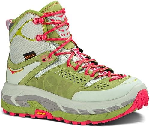 HOKA ONE ONE Tor Ultra Hi WP Running chaussures - Wohommes Fog vert Olive 10