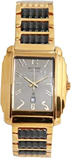 Casual Watch for Men by Accurate, Multi Color, Rectangle, AMQ1390T