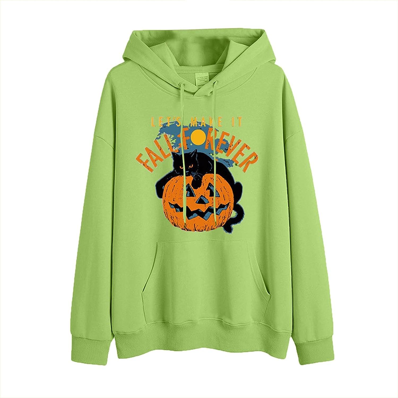 NRUTUP Women's Halloween Hoodies Shirt Long Casual Drawstring Now on sale Portland Mall Sl