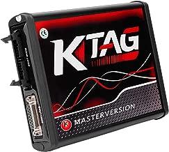 Aramox ECU Diagnostic Set, KTAG V7.020 ECU Programming Tool Unlimited Token Car Diagnostic Tool with Red PCB