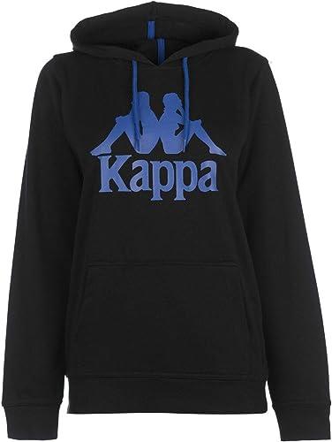 Kappa Zimim Capuche Noir Hommes Haut à Capuche Pull Pull