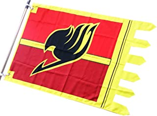 Magabee Fairy Tail Natsu Dragneel Guild Sign Flag 104 x 64 cm