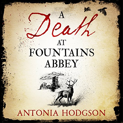 A Death at Fountains Abbey audiobook cover art