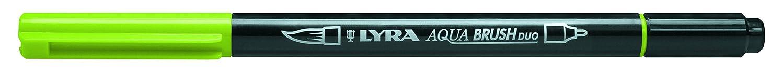 Lyra Aqua Brush Duo Brush Painters, Felt Tip Pens, Meadow Green, Maigrün