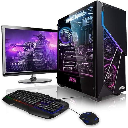 """Pack Gaming - Ordenador Gaming PC AMD Ryzen 5 3600 6X 3.60GHz • 24"""" Full-HD • Teclado y ratón Gaming • GeForce GTX1660 6GB • 240GB SSD • 1000GB HDD • 16GB DDR4 RAM • Windows 10 Home • WiFi"""