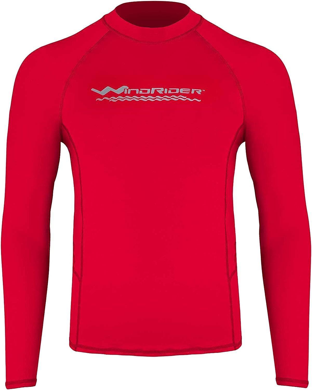 WindRider Men's Max 49% OFF Rash Luxury goods Guard Swim Shirt Long UP Sleeve –