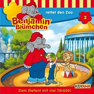Benjamin rettet den Zoo cover art