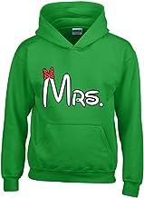 shop4ever ® La Sra. A juego Parejas Unisex sudadera con capucha par Sudaderas