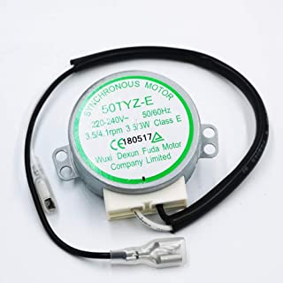 Fetcus Brand new for ice cube machine HZB-25BF/25A synchronous motor 50TYZ-E 220V~240V 3.5/3W 3.5RPM AC motor (6.5)