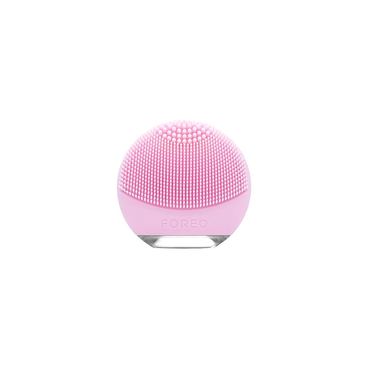 チャップ生き残り手つかずのFOREO LUNA go for ノーマルスキン 電動洗顔ブラシ シリコーン製 音波振動 エイジングケア※
