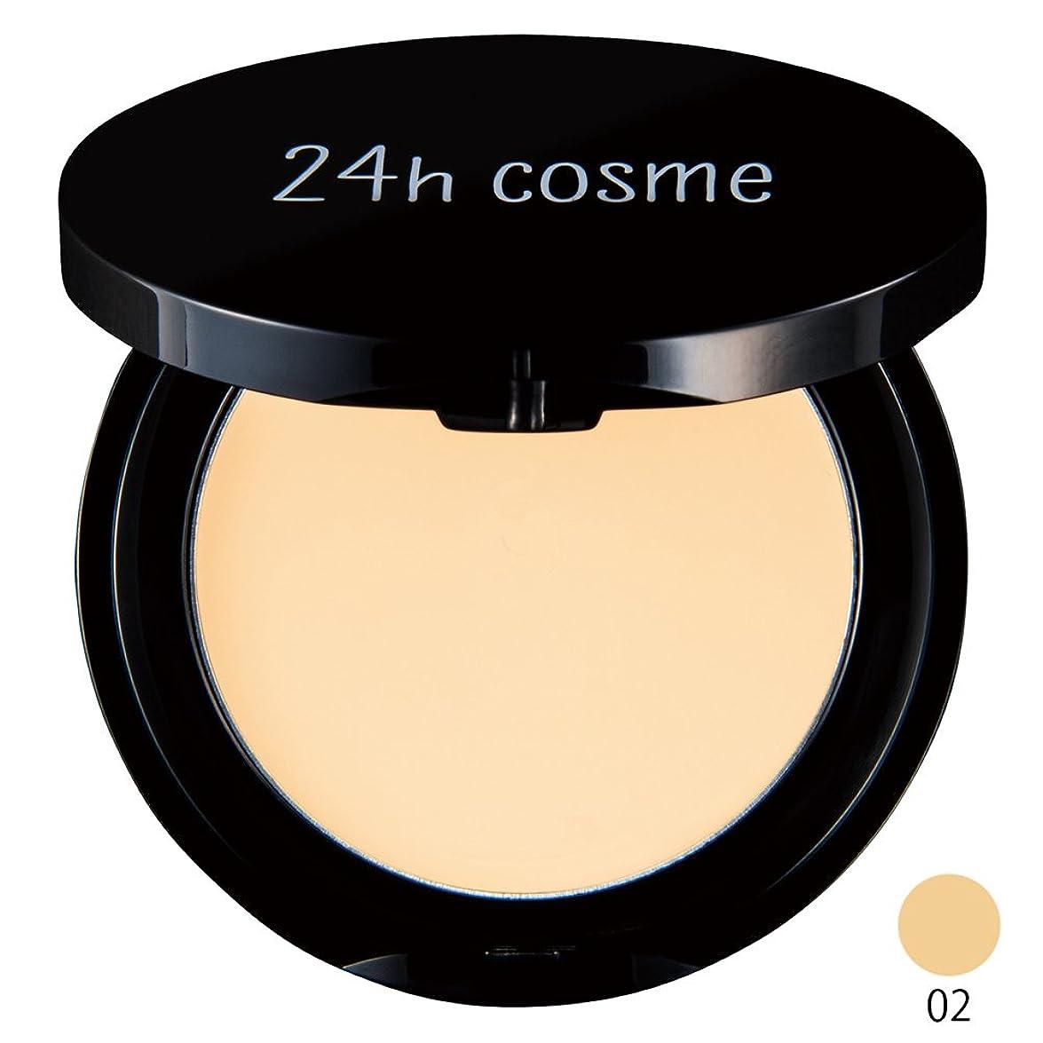 主婦に同意する間違えた24h cosme 24 ミネラルクリームファンデ 02ライト SPF50+/PA++++