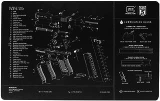 Glock Perfection OEM Gen5 Exploded Diagram Pistol Bench Mat AS10032