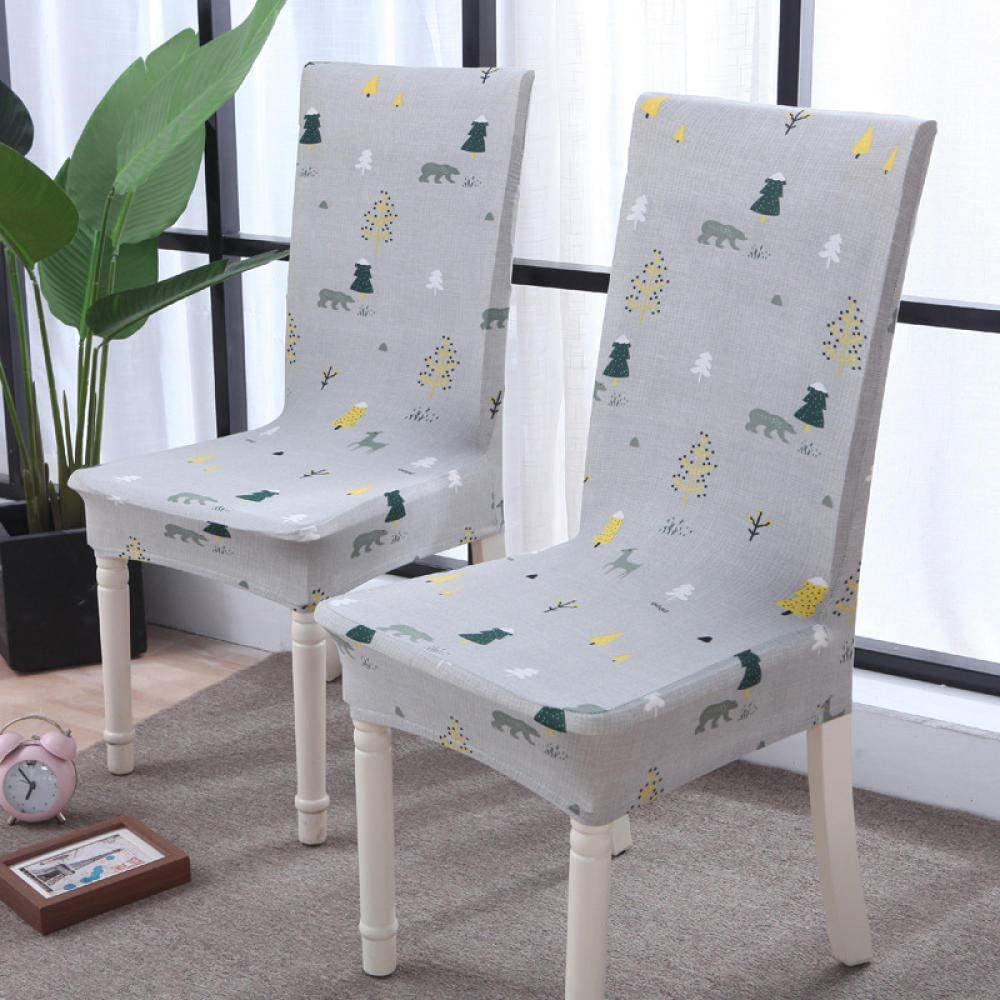 Chair Covers 6 Pieces with Backrest Cute Polar safety Bear Max 77% OFF